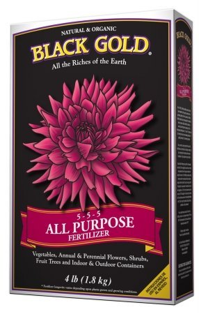 black-gold-natures-sungro-4-lb-all-purpose-fertilizer-5-5-5-1312115-pack-of-12