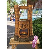 Design Toscano SH382465 Tiki Gods of Fire and Water Fountain