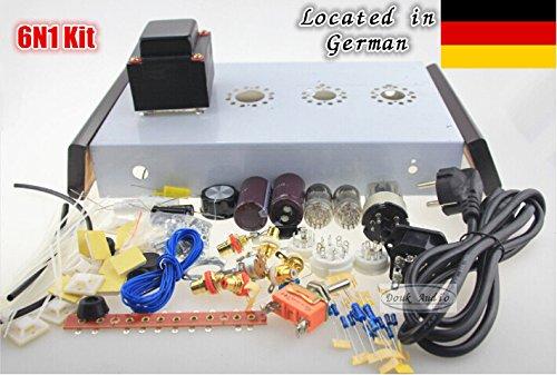 Nobsound 6n1*2+6z5p MINI valve tube Pre-AMP DIY KIT hifi atereo preamplifier for audiophile