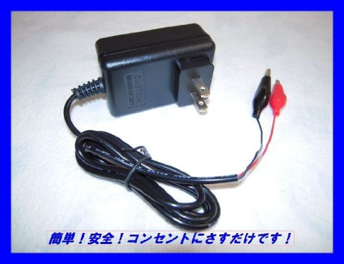 6V Fast Rapid Quick Charger for Power Wheels 6V BLUE Battery Ride Riding Toys By Pure Power Adapters ®
