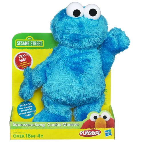Sesame Street Squeeze A Song Cookie Monster