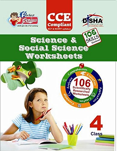 Perfect Genius Science & Social Science Worksheets for Class -  4: Based on Bloom's Taxonomy