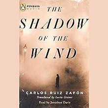 The Shadow of the Wind Audiobook by Carlos Ruiz Zafon Narrated by Jonathan Davis