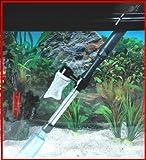 Trixie Aspirateur à Piles Nettoyeur de Gravier Siphon 35-54 cm pour Aquarium
