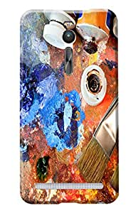 Asus ZenPhone 2 Designer Case Kanvas Cases Premium Quality 3D Printed Lightweight Slim Matte Finish Hard Back Cover for Asus ZenPhone 2
