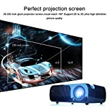 iRulu BL20 Video Projector, 2600 Lumens Home Cinema 5.0 Inch LCD TFT Display 1080P HD 3D (Black)
