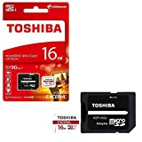 #2: Toshiba Exceria M302 16GB Micro SD Memory Card 90 MB/s 4K - Recommended for Action Cameras, GoPRO Hero 4 & Hero 5