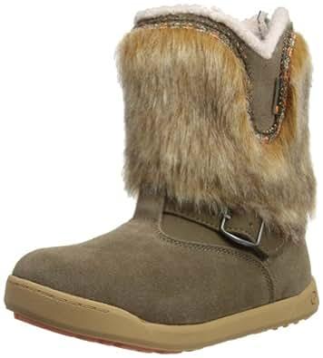 Hi-Tec Prairie 200, Girls' Snow Boots, Brown/Coral/Dune, 1 UK