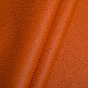 Tessuto di rivestimento in similpelle ecopelle, ampiamente usato  Arancio   Valutazioni Valutazione