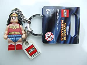 Amazon.com: LEGO Super Heroes Wonder Woman Key Chain: Toys ...