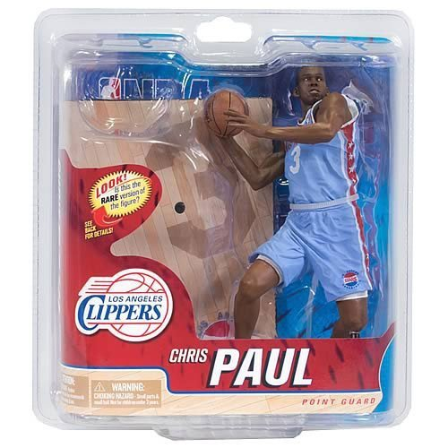 McFarlane Sportspicks: NBA Series 21 Chris Paul 2 - Clippers 6 inch CHASE VARIANT L.A. STARS JERSEY Action Figure by Unknown