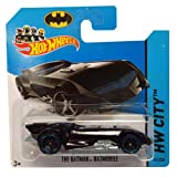 Hotwheels Diecast Car Hot Wheels The Batman Batmobile No. 61/250 HW City