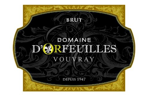 Nv Domaine D'Orfeuilles Brut, Vouvray 750 Ml
