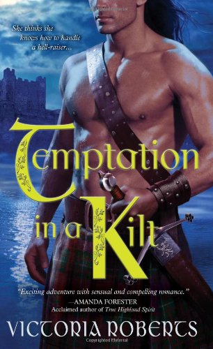 Image of Temptation in a Kilt (Bad Boys of the Highlands, Book 1)