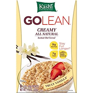 Kashi GOLEAN Instant Hot Cereal, Creamy Truly Vanilla, 11.28-Ounce Boxes (Pack of 6)