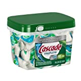 Cascade Complete All-in-1 ActionPacs Dishwasher Detergent, Fresh Scent, 48-Count