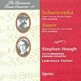 Scharwenka: Piano Concerto 4; Sauer: Concerto 1 (The Romantic Piano Concerto vol 11) Stephen Hough