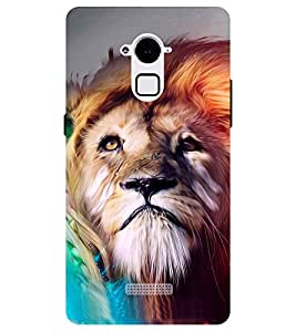 Chiraiyaa Designer Printed Premium Back Cover Case for Coolpad Note 3 (Lion) (Multicolor)