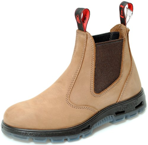 Redback UBCH Chelsea Boots Nubuck Crazy Horse Brown from Australia (UK size 2)