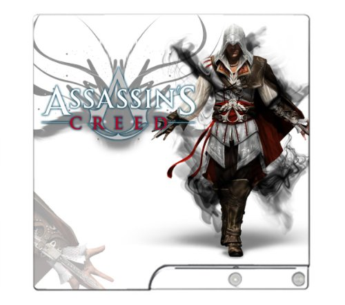 Assassin's Creed 2 II Game Skin for Sony Playstation 3 Slim Console