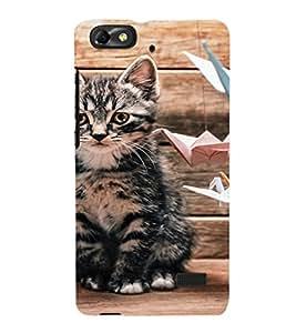 EPICCASE sad cat Mobile Back Case Cover For Xiaomi Redmi Mi4c (Designer Case)