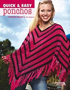Crochet Patterns Amazon : Amazon.com: Quick & Easy Ponchos - Crochet Patterns