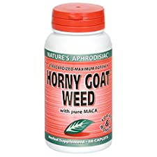 Windmill Horny Goat Weed with Pure MACA, Caplets, 60 caplets