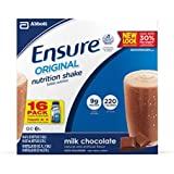 Ensure Original Nutrition Shake, Chocolate, 8-Ounce (32 Count)