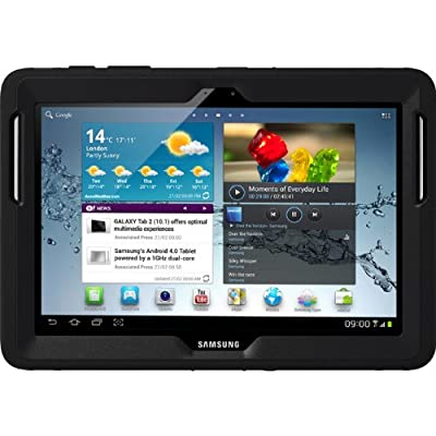 OtterBox Original Case 77-23994 for Samsung Galaxy Tab 2 10.1 (Defender Series), Retail Packaging - Black from OtterBox
