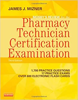 mosbys review for the pharmacy technician certification