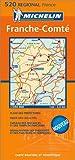 echange, troc Cartes REGIONAL Michelin - Carte routière : Franche-Comté