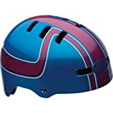 2013 Bell Fraction Kids Youth BMX Skate Helmet pink / blue boss X-small 48-53cm