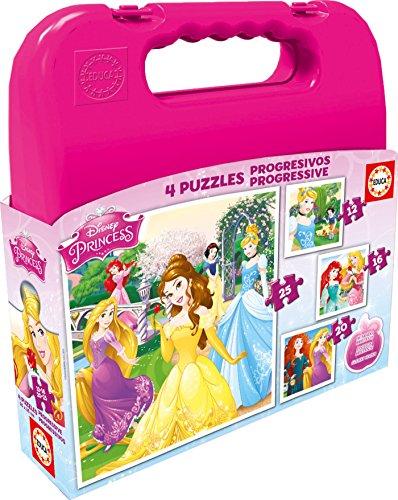 Puzzles-Educa-Maleta-con-puzzles-progresivos-diseo-Princesas-Disney-12-16-20-25-piezas-16508