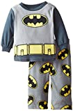 DC Comics Baby Boys' Batman Night Hero Uniform 2 Piece Pajama Set