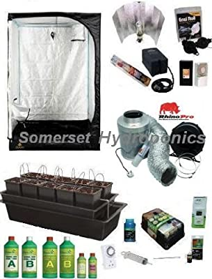 Wilma10 System Hydroponic Grow Kit with DS120 Grow Tent