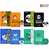 [SNP Cosmetic] Animal Mask 10ea Box Case 4 Type