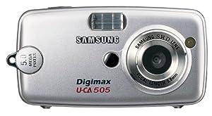 Samsung Digimax U-CA 505 5MP Digital Camera with 5x Digital Zoom (Silver)