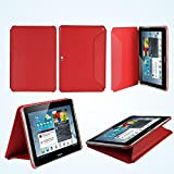 Book Folio Stand Flip Carry Case Cover For Samsung Galaxy Note 10.1 Inch P600 P601 Book Cover Case Stand Book...