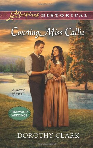 Image of Courting Miss Callie (Love Inspired Historical)