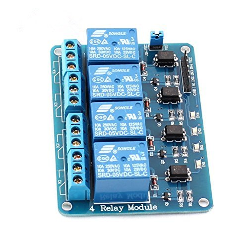 Arrela 4-channel 5v Relay Module with Optocoupler for Arduino DSP AVR PIC ARM (Pics Of El compare prices)