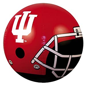 "24"" NCAA Indiana Hoosiers Authentic Football Logo Inflatible Helmet Beach Ball"