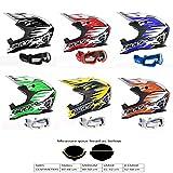 Motorradhelm Für Kinder WULFSPORT ADVANCE KINDER ATV Helm Motocross Rennhelm