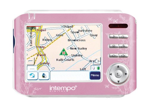 Intempo Buddy, Sat. Nav. GPS System In Pink