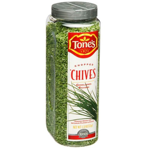 Tone's Chopped Chives - 1.12oz shaker
