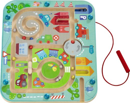 Haba 301474 Town Maze Magnetic Game