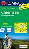 Chiemsee - Chiemgauer Alpen: Wanderkarte mit KOMPASS-Lexikon, Radwegen und Loipen. GPS-genau. 1:50000 (KOMPASS-Wanderkarten, Band 10)