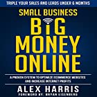 Small Business Big Money Online: A Proven System to Optimize eCommerce Websites and Increase Internet Profits Hörbuch von Alex Harris Gesprochen von: Paul Colaianni