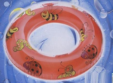 Splash-N-Swim Red Swim Ring Lady Bug, Caterpillar, Bee, Age 4+