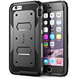 iPhone 6s Plus Case, [Armorbox] i-Blason Builtin [Screen Protector] Heavy Duty Shock Reduction [Bumper] for Apple iPhone 6 Plus 5.5 Inch (Black)