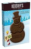 Hershey's Christmas Milk Chocolate Snap-Apart Snowman, 2-Ounce (Pack of 12)